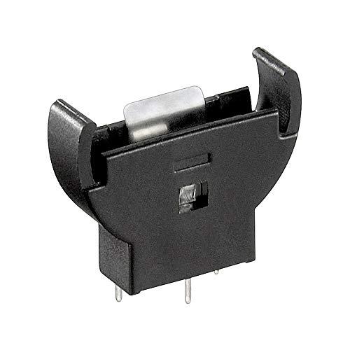 Goobay 46159 CR2012-2032 Knopfzellenhalter, Schwarz,