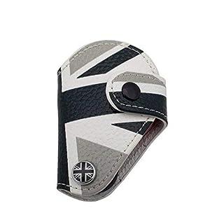 AUTOMAN echtes Leder Fernbedienung Schlüssel Case Cover Tasche für Mini Cooper R56 CLUBMAN Countryman 12-14