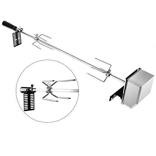 Nidouillet 106CM Kit girarrosto universale in acciaio Inox con motore
