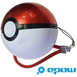 EPOW® Batteria esterno Pokemon GO, batteria Pokeball 12000 mAh, caricatore Pokeball per Smartphone, iPhone, Android, accessorio Pokemon GB indispensabile