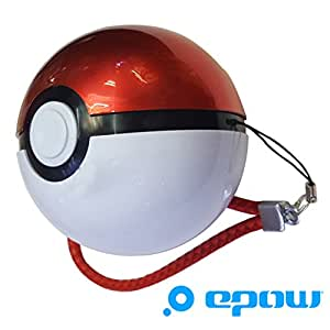 EPOW® Batterie Externe Pokemon Go Originale X2 USB, Batterie Pokeball 12000mAh, Chargeur Pokeball pour Smartphones, iPhone, Android, Accessoire Pokemon Go indispensable