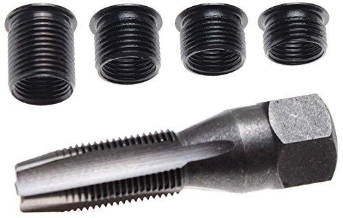 Bgs BGS-150 - Kit de reparación de rosca de la bujía m14 x 1,25,