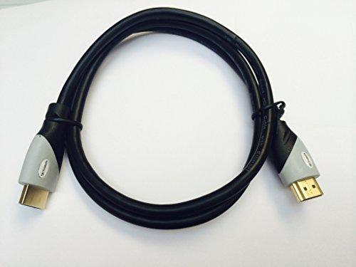 HDMI männlich auf HDMI männlich, für Plasma oder LCD TV und andere HDMI- fähige Geräte, 1 m 720p Plasma Tv