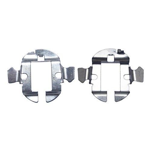 feeldo 2x Auto H7HID Xenon Leuchtmittel Adapter Halter für Audi Benz BMW OPEL BUICK Bora Saab HID Lampe Boden Retainer Clip Sockel