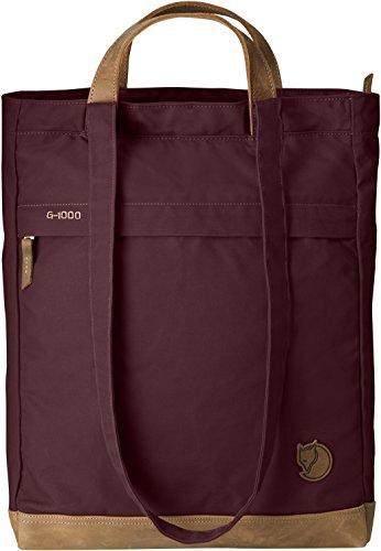 Fjällräven Damen Tasche Totepack No.2, 24229-356, violett (Dark Garnet), 13 x 33 x 42 cm, 16 liters, One Size