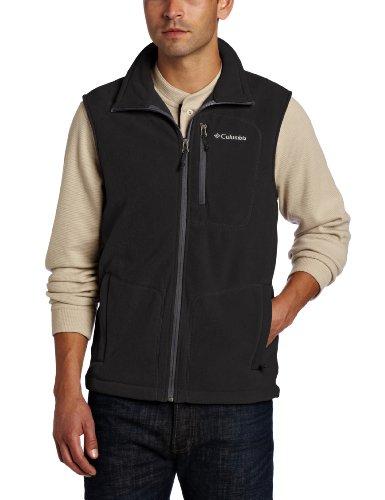 Columbia Herren Fast Trek Fleece Vest, Black, L, AM1056