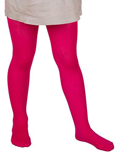 Mädchen Strumpfhose Microfaser 40Vielzahl von Farben Größen 3Jahre–13Jahre..., Pink (Pink Strumpfhose Microfaser)
