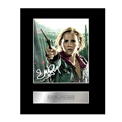 Emma Watson, Hermione Granger firmada foto pantalla Harry Potter # 01