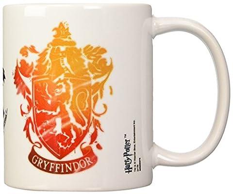 Kaffeetasse-Gryffindor Stencil Crest