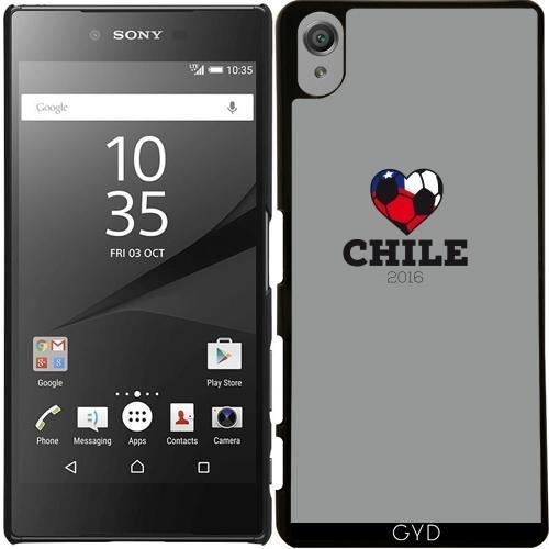 Custodia per Sony Xperia X Performance - Camicia Di Calcio Chile 2016 by ilovecotton