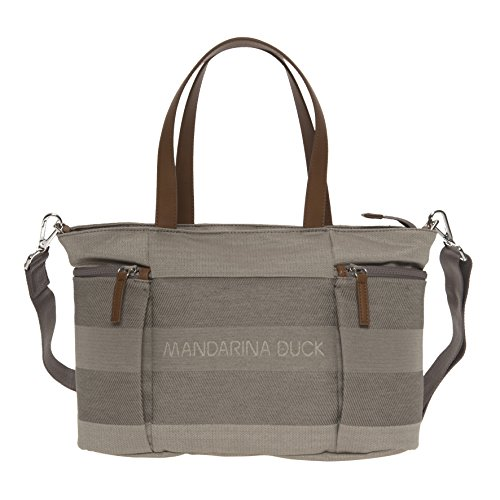 mandarina-duck-borsa-shopper-speak-161iit1409k-taupe