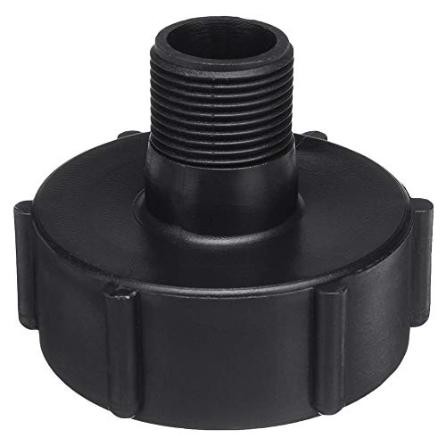 TOOGOO 1 Stueck 1000L Ibc Wasser Tank Garten Schlauch Adapter Passend Zu 60 Mm Adapter 0,75 Garten Schlauch Rohr Ventil Zubeh?r