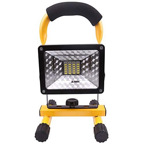 D Faretto Sensore di Movimento Lampada di Riparazione per Auto da Campeggio Ricaricabile da 30 W 24 LED, Lampada da Cantiere, Ricaricabile