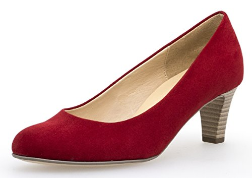 Gabor Damen Pumps Rot + Lila; Hell Größe 39 Rot (Rot)