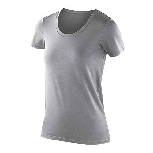 Spiro - T-shirt - Manches Courtes - Femme Blanc