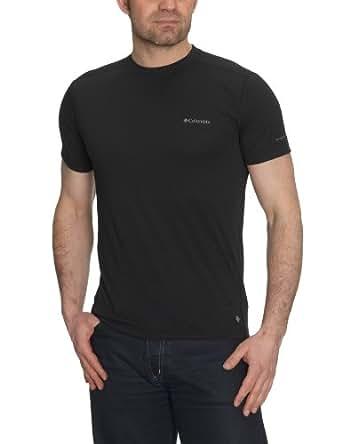 Columbia Herren T-Shirt Mountain Tech II Crew, black, M, EM6967