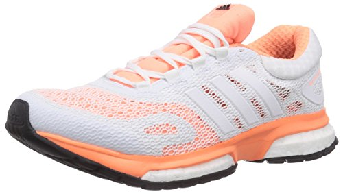 adidas Performance Response Boost, Damen Laufschuhe, Mehrfarbig (Flash Orange S15/Ftwr White/Core Black), 41 1/3 EU (7.5 Damen UK)