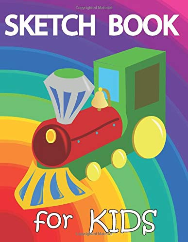 Sketch Book for Kids: Blank Paper for Drawing, Doodling or Sketching. Drawing for Kids: Cute ! 108 Pages, 8.5