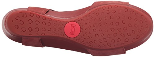 Camper Supersoft Negro/micro Negro, Sandales femme Rouge