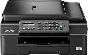 Brother MFC-J245 Tinten-Multifunktionsgerät (Scanner, Kopierer, Drucker, Fax, 6000 x 1200 dpi, USB 2.0) schwarz