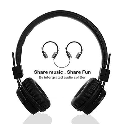 Kopfhörer für Kinder Mit Abnehmbarem Kabel und Share Port für Jungen und Mädchen by Termichy von Termichy
