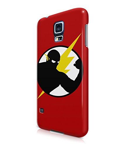 The Flash Justice League Superhero Comics Plastic Snap-On Case Cover Shell For Samsung Galaxy S5
