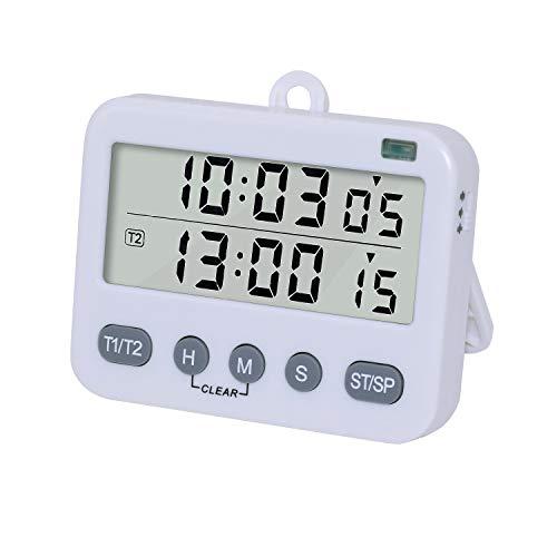 Temporizadores Cocina Digital Duales Reloj