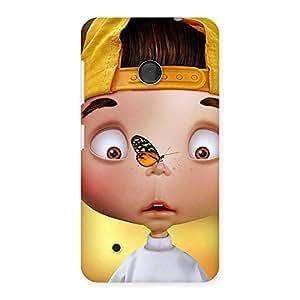 Impressive Confused Funny Boy Back Case Cover for Lumia 530