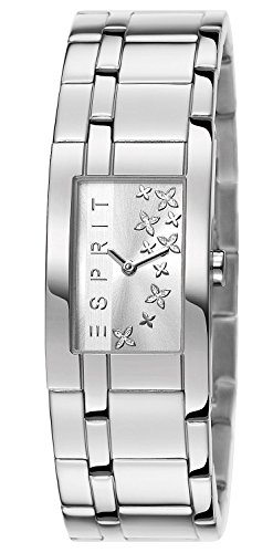 Esprit Damen-Armbanduhr Houston Analog Quarz Edelstahl ES107292001