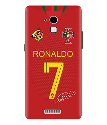 Print Vale Ronaldo CR7 Real Madrid Best Footballer Designer Printed Polycarbonate Matte Finish Hard Back Case Cover for Coolpad Note 3 Lite