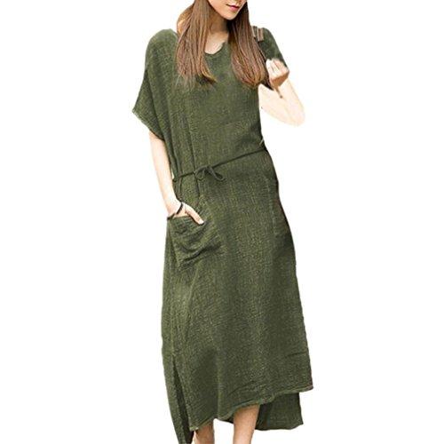 Women Dress Off Shoulder Short Sleeve Print Casual Dress