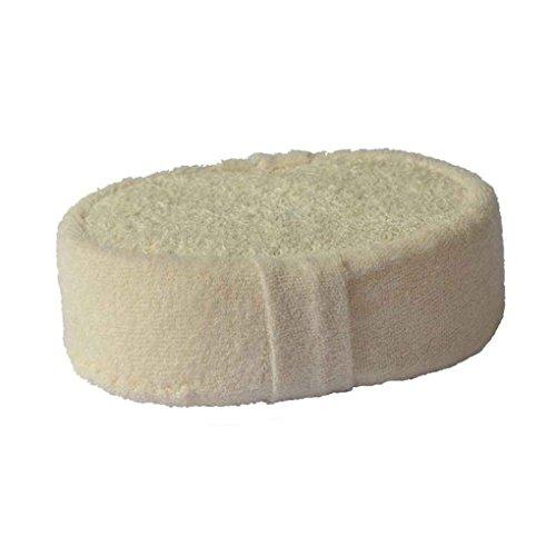 Off White-spender (F-blue Luffa-Schwamm Badkugel Dusche Badetuch Wash Rub für den ganzen Körper gesund Massagebürste)