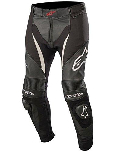 Alpinestars Motorradhose Sp X Pants Schwarz Weiss, Schwarz/Weiss, 48