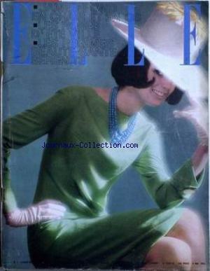 ELLE [No 959] Du 08/05/1964 – JAMES BOND EN CHAIR ET EN OS – LES OBES D'ETE VILLE – LES REGIMES BEAUTE-SANTE-SERENITE.