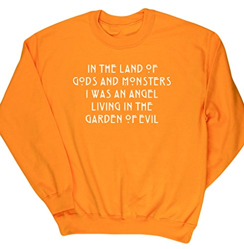 HippoWarehouse Herren Sweatshirt Gr. L, (Pics Clowns Scary)