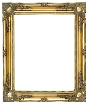 quality ornate gold wood frames 3 large sizes 5 colours frame only or plastic glass