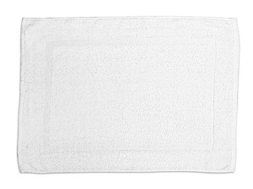 Soleil d'Ocre 477040 Tapis de Bain Coton Blanc 50 x 70 cm