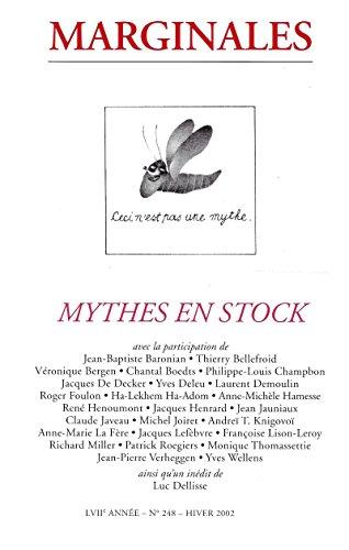 Livres gratuits en ligne Mythes en stock: Marginales - 248 pdf