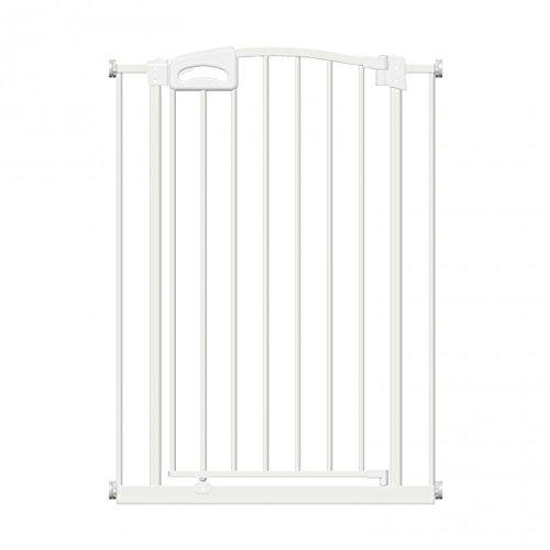 Callowesse CARUSI - Barrera Extra-Estrecha para Puertas y Escaleras 63-70cm - Color Blanco