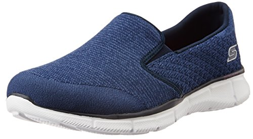 Skechers Equalizer Say Something, Scarpe da Ginnastica Donna, Blu (Blu (Navy)), 37 EU
