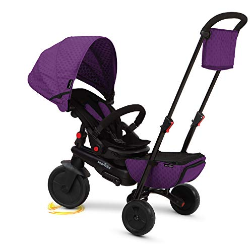 SMARTRIKE - Tricycle Pliable, 5500100, Mauve