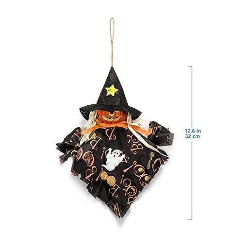 Hexe Halloween Zubita Hängende Anhänger Dekoration Party Dekor Pumpkin Spider Hexe Umweltfreundlich niedlich