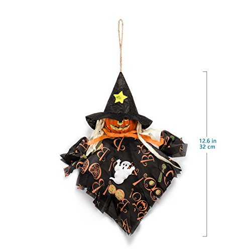 Hexe Halloween Zubita Hängende Anhänger Halloween Dekoration Party Dekor Pumpkin Spider Hexe Umweltfreundlich (Halloween Niedliche Dekoration)