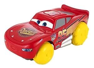 Mattel - cars - bgm51 - véhicule à bulles flash mcqueen