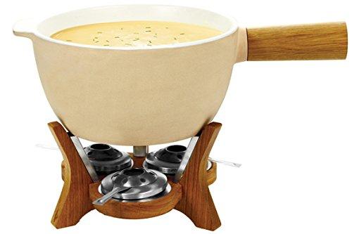 Boska Party Fondue Mr. Big Fondue 6.5L 12personas(s) - Accesorio de cocina (Beige, Madera, 600 mm, 320 mm, 160 mm, 6,87 kg)