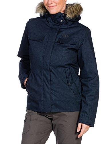 Jack Wolfskin Damen Jacke Wattiert Cypress Mountain Jacket Night Blue