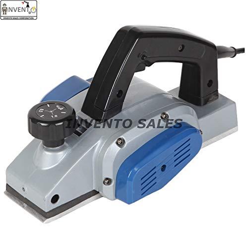 INVENTO Electric Wood Planer 82 mm Cutter 650 Watt 14000 RPM Powerful Professional Machine Set
