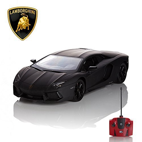 Funkferngesteuertes Auto Lamborghini 1.24 Schwarz Official Product
