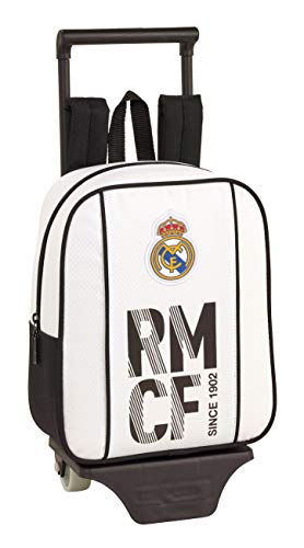 Real Madrid CF Mochila Guardería Ruedas, Carro, Trolley