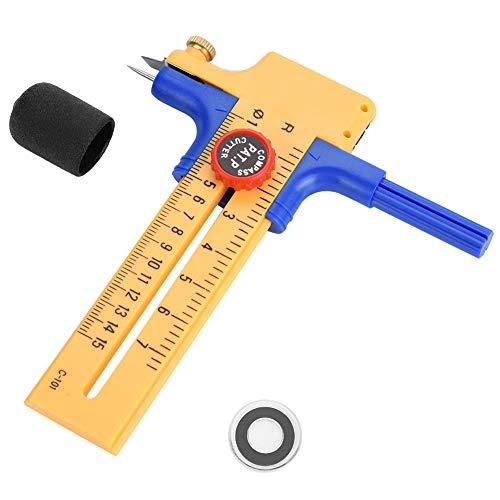 Einstellbare Kompass Kreis Cutter Runde Zeichnen Bild Papier Bastelbedarf Schneiden Messer Werkzeug